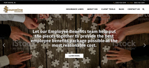 SourceOne homepage image
