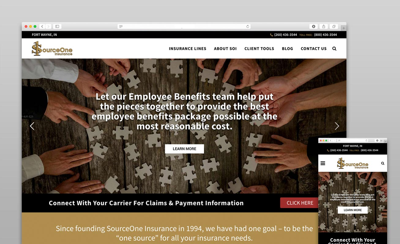 SourceOne Site Launch